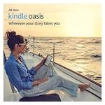 Buy Kindle Oasis - 7 Inch High Resolution Display, Waterproof, 32 GB, WiFi + Free 3G Black Online