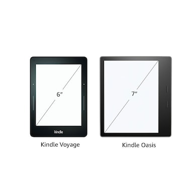 Kindle Oasis - 7 Inch High Resolution Display, Waterproof, 8 GB, WiFi Black Price in India