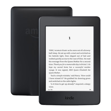 Kindle Paperwhite 6 Inch High Resolution Display (300 ppi) with Built-in Light, Wi-Fi + Free 3G Black Price in India