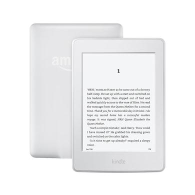 Kindle Paperwhite (7th gen), 6 Inch High Resolution Display with Built-in Light, 4GB, Wi-Fi White Price in India