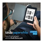 Buy Kindle Starter Pack with 7th Gen Kindle Paperwhite WiFi+ NuPro SlimFit Cover for Kindle Paperwhite Black Online