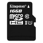 Buy Kingston 16 GB Class 10 MicroSDHC Memory Card 16 GB Online