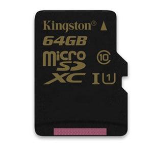 Buy Kingston 64 GB Class 10 MicroSDXC Memory Card Online