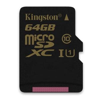 Kingston 64 GB Class 10 MicroSDXC Memory Card 64 GB Price in India