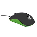 Buy Lapcare L 90 Wired Optical Mouse Green Online