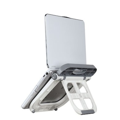 Lapcare Multi Function Laptop Stand (Lap Station) White Price in India