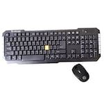 Buy Lapcare Retreat L 900 Wireless Keyboard With Mouse (USB, Black) Online