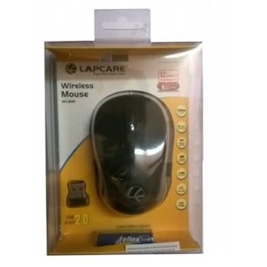 Lapcare WL 300 Wireless Optical Mouse Black Price in India