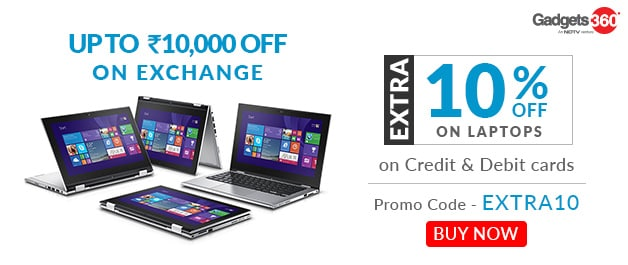 Laptop - Flat 10% OFF