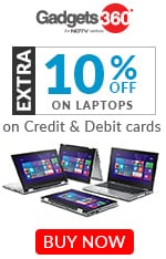 Laptops - Flat 10% OFF