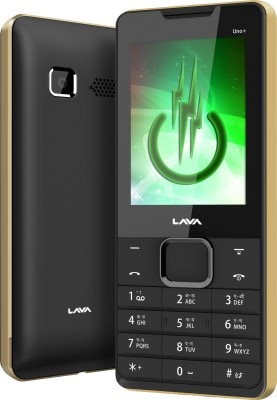 Lava KKT Uno+ Black and Gold images, Buy Lava KKT Uno+ Black and Gold online
