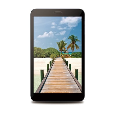 Leafline Tab L Wi-Fi+3G Voice Calling Tablet Black and Gold, 8GB Price in India