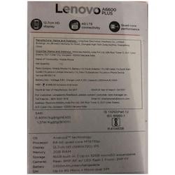 Lenovo A6600 Plus 4G VOLTE Black, 16 GB images, Buy Lenovo A6600 Plus 4G VOLTE Black, 16 GB online at price Rs. 5,849