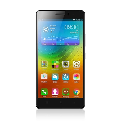 Lenovo A7000 Turbo (Black, 2GB RAM, 16GB) Price in India