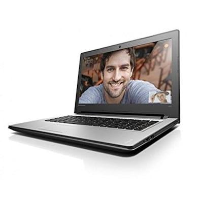 Lenovo Ideapad 300 80Q700DYIN 15.6 Inch Laptop (Core i5 6th Gen/4GB/1TB/Win 10/2GB Graphic) Silver Price in India