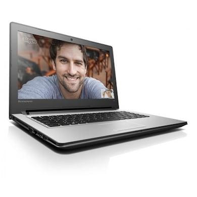 Lenovo Ideapad 300 80Q700UGIN 15.6 Inch Laptop (Core i5 6th Gen/4GB/1TB/Win 10/2GB Graphics) Silver Price in India