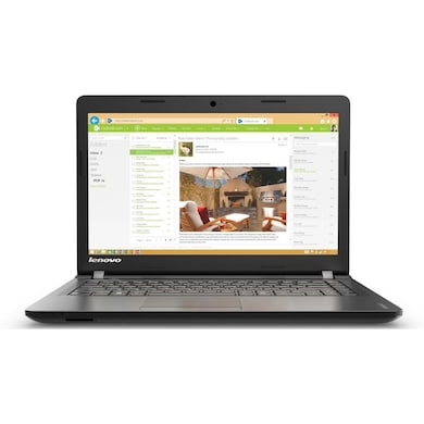 Lenovo Ideapad IP100 (Celeron Dual Core/2GB/500GB/DOS/128MB Graphics) (80MJ00A8IN) (15.6 inches, Black) Price in India