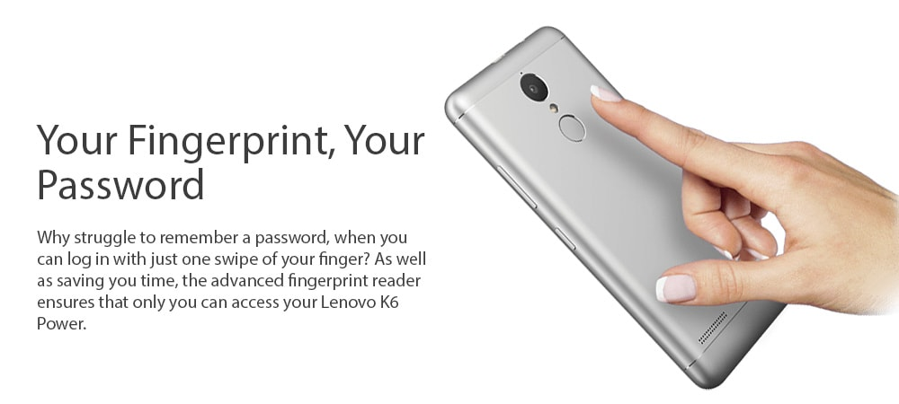 Lenovo K6 Power (3GB RAM, 32GB) Photo 7