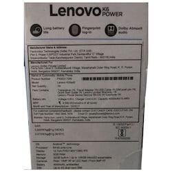 Lenovo K6 Power (3GB RAM, 32GB) Gold images, Buy Lenovo K6 Power (3GB RAM, 32GB) Gold online at price Rs. 7,999