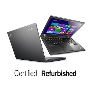 Refurbished Lenovo Thinkpad T440 14 Inch Laptop (Core i7 4th Gen/4GB/500GB/Win 7) Black Price in India