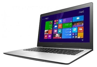 Lenovo U41 Notebook (Core i5 5th Gen/4GB/1TB/ Window 8.1) (80JV007GIN) (14 inches, Silver) Price in India