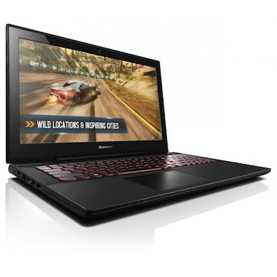 Lenovo Y50-70 Notebook (Core i7 4th Gen/8GB/1TB/Windows 8.1/4GB Graphics) (59-445136) (15.6 inches, Black) Price in India