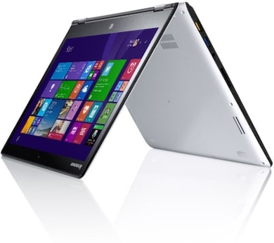 Lenovo Yoga 3 14 Notebook (Core i7 5th Gen/8GB/256GB SSD/Windows 8.1/2GB Graphics/Touch)(80JH00A2IN) (14 inches, Light Silver) Price in India