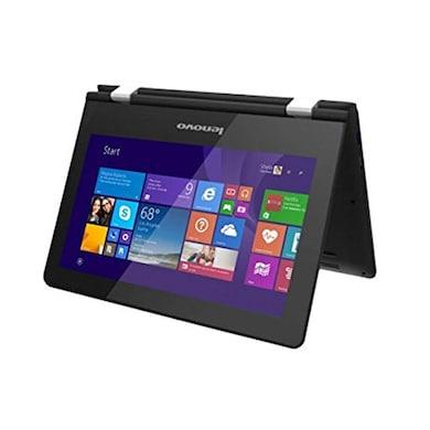 Lenovo Yoga 300 80M1003XIN 11.6 Inch 2 In 1 Laptop (Pentium Quad Core 6th Gen/4GB/500GB/Win 10/Touch Black Price in India