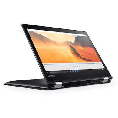 Lenovo Yoga 510 80VB000DIH 14 Inch Laptop (Core i5 7th Gen/4GB/1TB/Win 10/2GB Graphic/Touch) Black Price in India
