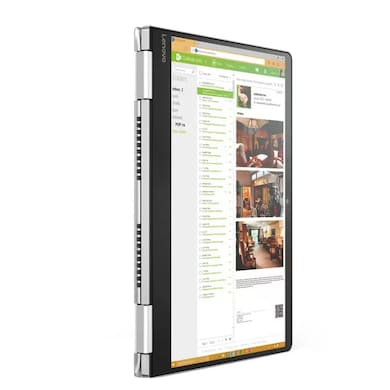 Lenovo Yoga 710 80V4000YIH 14 Inch Laptop (Core i7 7th Gen/8GB/256GB/Win 10/2GB Graphics/Touch) SIlver Price in India