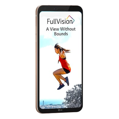 LG Q6 with FullVision Display (Gold, 3GB RAM, 32GB) Price in India