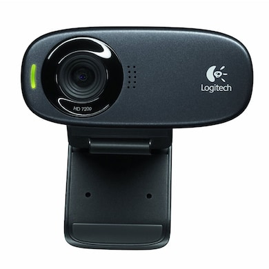 Logitech C310 HD Webcam Black Price in India