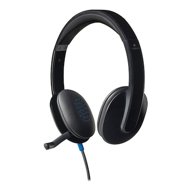 Logitech H540 USB Headset With Mic Black Price in India