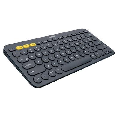 Logitech K380 Multi-Device Bluetooth Keyboard Dark Grey Price in India