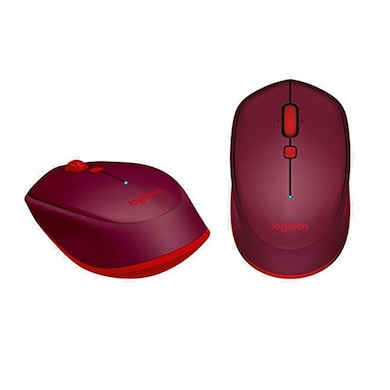 Logitech M337 Bluetooth Mouse Red Price in India