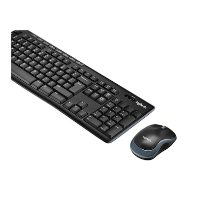 Logitech MK270R Wireless Keyboard and Mouse Set Black Price in India