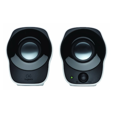 Logitech Z120 Stereo Speaker Black and White Price in India