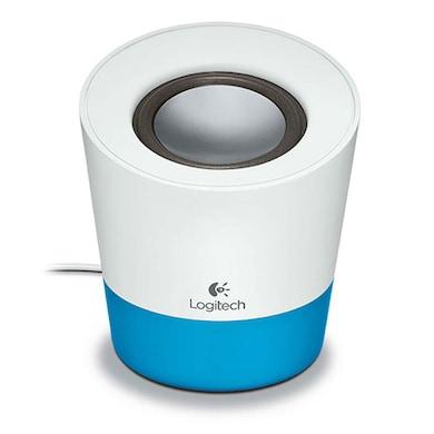 Logitech Z50 Multimedia Speaker White and Blue Price in India