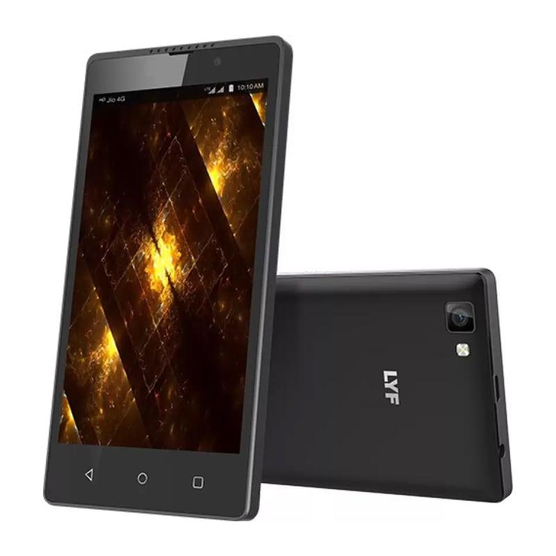 LYF F8 Black, 8 GB images, Buy LYF F8 Black, 8 GB online at price Rs. 4,649