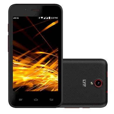 Lyf Flame 4 (Black, 512MB RAM, 8GB) Price in India
