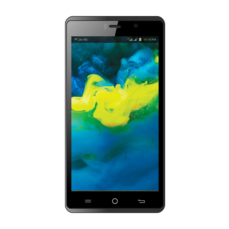 Buy LYF Water 10 Black,16 GB online