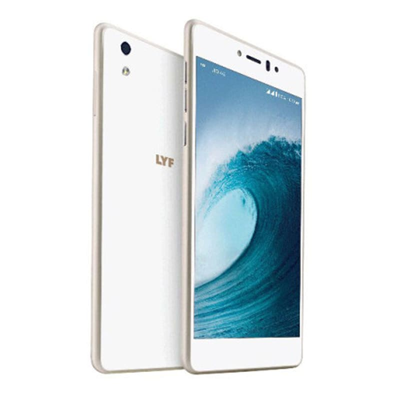 Buy LYF WATER 8 White, 16 GB online