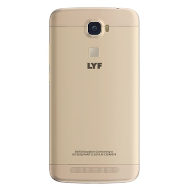 LYF Water 9 Gold, 16 GB images, Buy LYF Water 9 Gold, 16 GB online at price Rs. 7,800