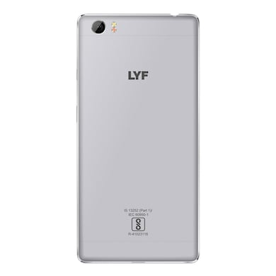 LYF Water F1S Grey, 32 GB images, Buy LYF Water F1S Grey, 32 GB online at price Rs. 7,649