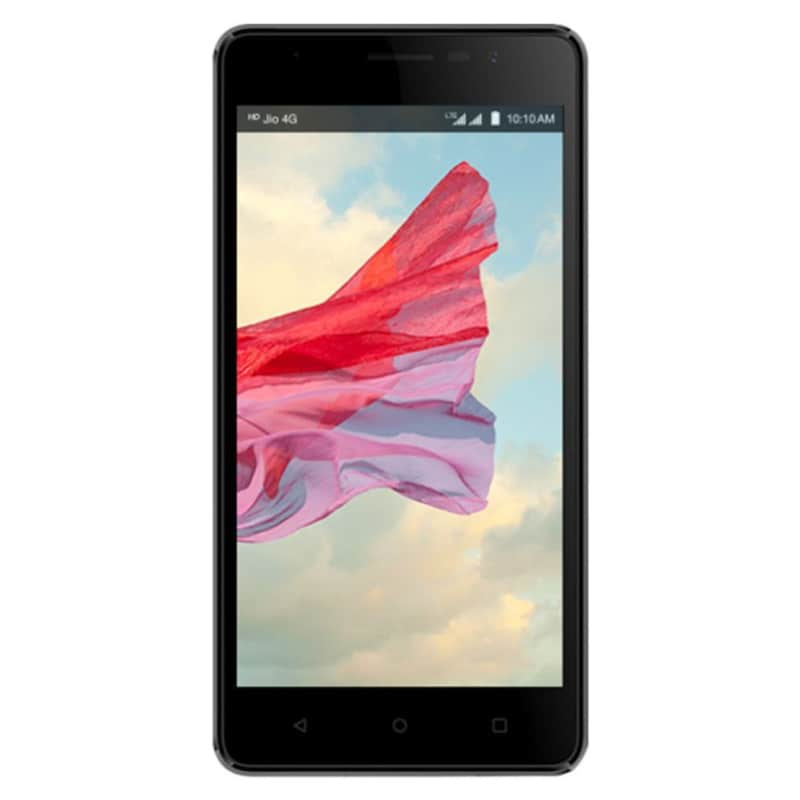 LYF Wind 4S Black, 16 GB images, Buy LYF Wind 4S Black, 16 GB online at price Rs. 6,400