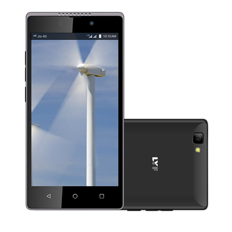 LYF Wind 7 Black, 16 GB images, Buy LYF Wind 7 Black, 16 GB online at price Rs. 6,299