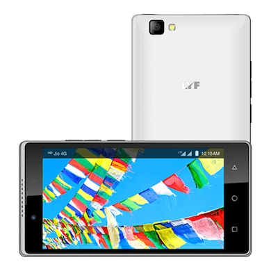 LYF Wind 7 (White, 2GB RAM, 16GB) Price in India
