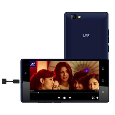 LYF WIND 7i Blue, 8 GB images, Buy LYF WIND 7i Blue, 8 GB online at price Rs. 5,250