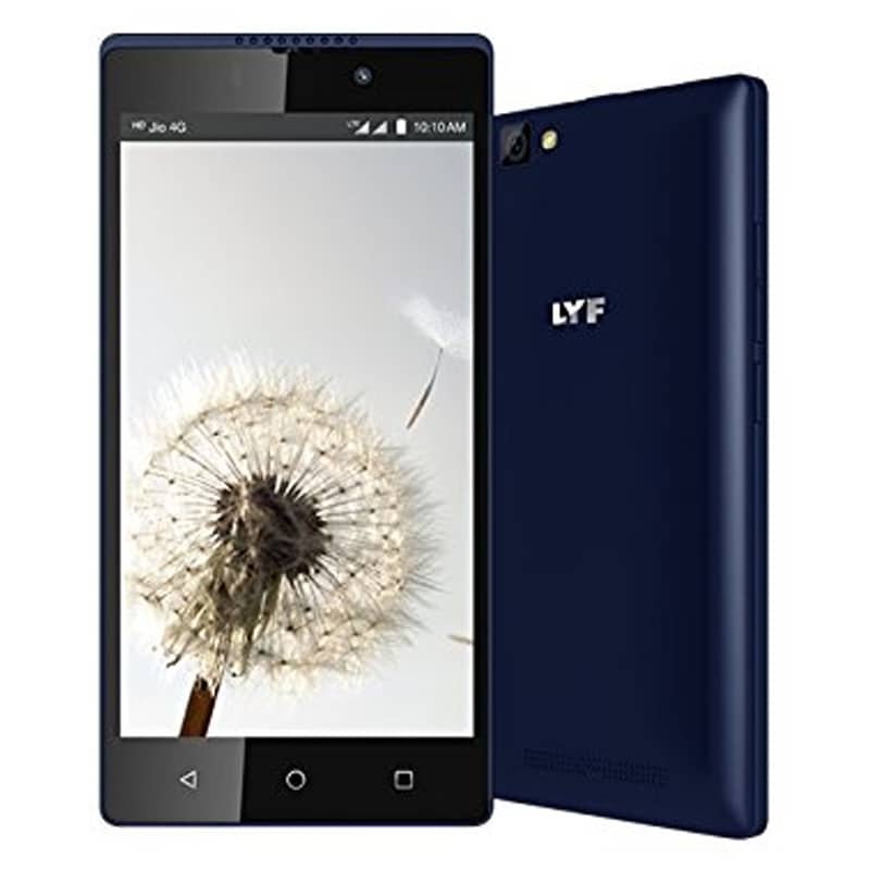 LYF Wind 7S Blue, 16 GB images, Buy LYF Wind 7S Blue, 16 GB online at price Rs. 5,800