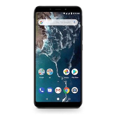 Refurbished Mi A2 (Black, 4GB RAM, 64GB) Price in India